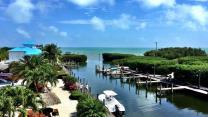 View from Sunrise Breeze at Ocean Pointe Key Largo-Tavernier